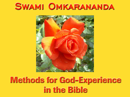 Methods for God-Experience in the Bible